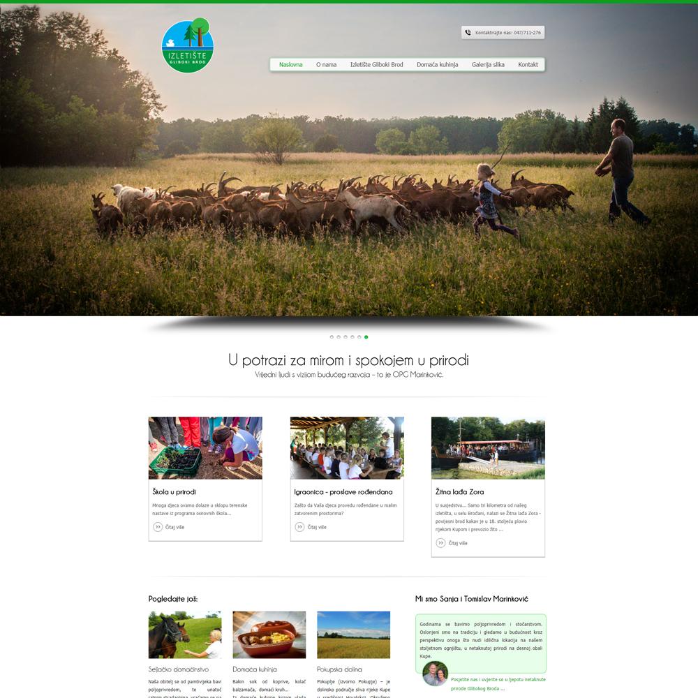 Web stranica za poljoprivredu